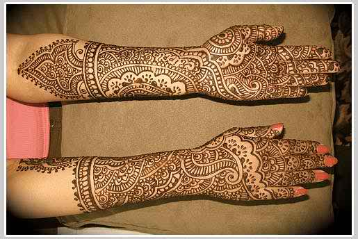 Amazing Indian Mehndi Designs 2014 For Brides009