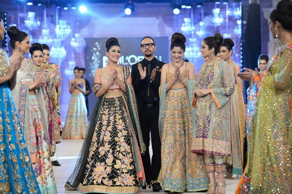 Nomi Ansari Bridal Dresses At PFDC LOreal Paris Bridal Week 2014007