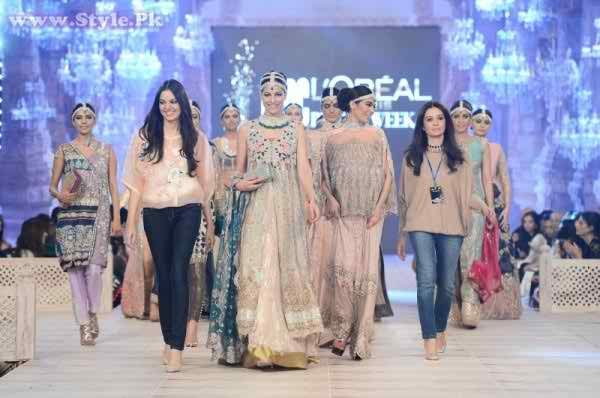 PFDC L'Oreal Paris Bridal Week 2014 Day 1 Pictures 0027