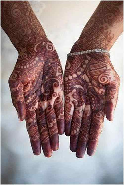 Bridal Mehndi Rajasthani : Rajasthani bridal mehndi designs for hands life