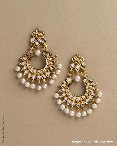 trends of kundan earrings 2014 for women 0016 life n fashion
