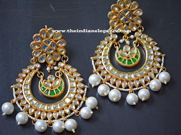 Trends Of Kundan Earrings 2014 For Women 003