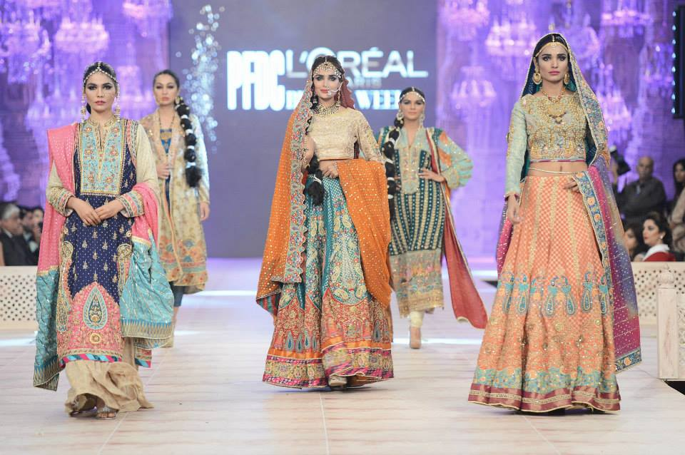 Wardha Saleem Bridal Collection 2014 At PFDC Loreal Paris Bridal Week 2014001