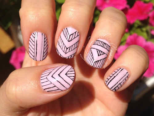 Trends of tribal nail art designs 2014 2015 for women life n fashion prinsesfo Images