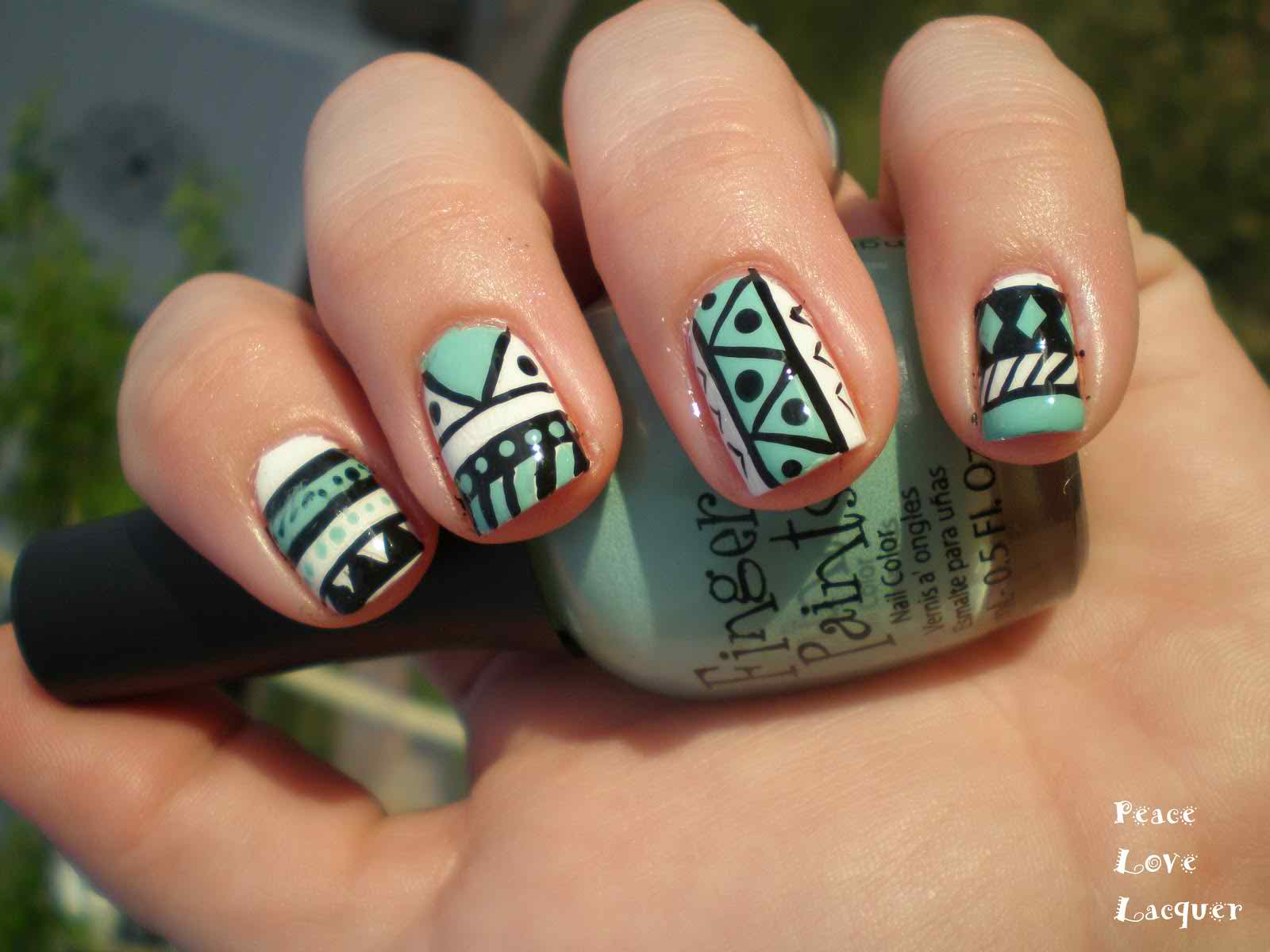 Trends Of Tribal Nail Art Designs 2014-2015 For Women - Life n Fashion