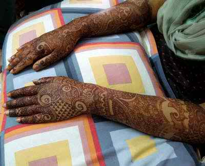 Latest And New Mehndi Designs 2014 For Brides0011