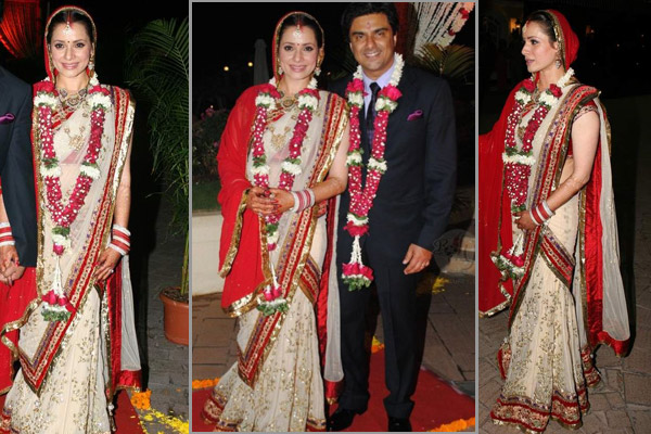 Top Bollywood Actresses Who Did Not Wear Red Dresses At Their Weddings001