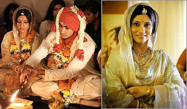 Top Bollywood Actresses Who Did Not Wear Red Dresses At Their Weddings004